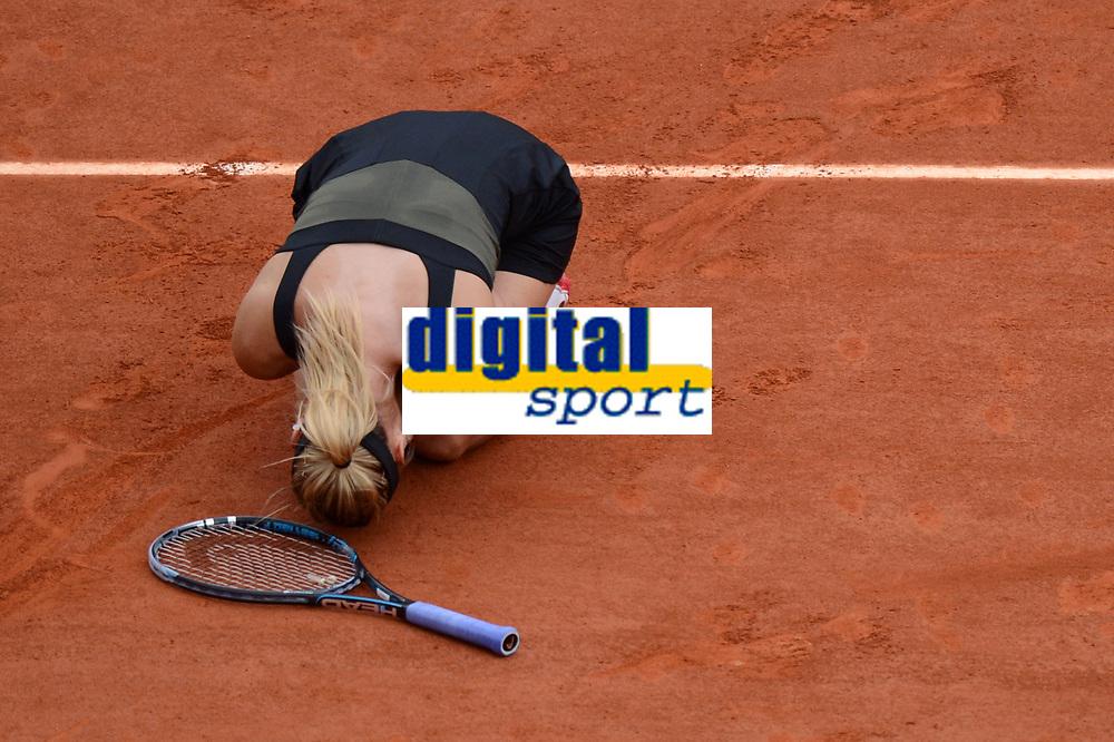 TENNIS - GRAND SLAM - ROLAND GARROS 2012 - PARIS (FRA) - 9/06/2012 - WOMEN FINAL - MARIA SHARAPOVA (RUS) / WINNER VS SARAH ERRANI (ITA) - PHOTO PHILIPPE MILLEREAU / KMSP / DPPI