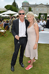 NICK & NETTE MASON at the Cartier hosted Style et Lux at The Goodwood Festival of Speed at Goodwood House, West Sussex on 26th June 2016.