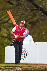 March 23, 2018 - Austin, TX, U.S. - AUSTIN, TX - MARCH 23: Phil Mickelson watches his tee shot during the third round of the WGC-Dell Technologies Match Play on March 23, 2018 at Austin Country Club in Austin, TX. (Photo by Daniel Dunn/Icon Sportswire) (Credit Image: © Daniel Dunn/Icon SMI via ZUMA Press)