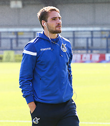 Luke Leahy of Bristol Rovers before kick off - Mandatory by-line: Arron Gent/JMP - 21/09/2019 - FOOTBALL - Cherry Red Records Stadium - Kingston upon Thames, England - AFC Wimbledon v Bristol Rovers - Sky Bet League One