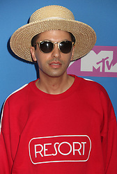 August 20, 2018 - New York City, New York, U.S. - DJ CASSIDY attends the arrivals for the 2018 MTV 'VMAS' held at Radio City Music Hall. (Credit Image: © Nancy Kaszerman via ZUMA Wire)