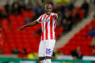 Stoke City defender Bruno Martins Indi (15) in action  during the EFL Sky Bet Championship match between Stoke City and Swansea City at the Bet365 Stadium, Stoke-on-Trent, England on 18 September 2018.