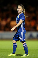 Christie Murray (#16) of Scotland during the 2019 FIFA Women's World Cup UEFA Qualifier match between Scotland Women and Switzerland at the Simple Digital Arena, St Mirren, Scotland on 30 August 2018.