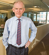 Portrait of Jeremy Grantham co-founder and chief investment strategist of Grantham, Mayo, & van Otterloo