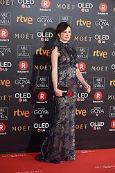 Penelope Cruz attends Goya Cinema Awards 2018 at Madrid Marriott Auditorium on February 3, 2018 in Madrid, Spain. 03 Feb 2018 Pictured: Emily Mortimer. Photo credit: MEGA TheMegaAgency.com +1 888 505 6342