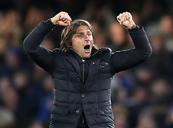 Chelsea manager Antonio Conte after the Premier League match at Stamford Bridge, London.