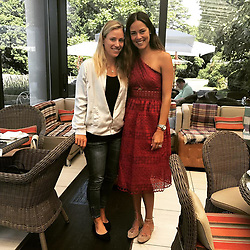 """Angelique Kerber releases a photo on Instagram with the following caption: """"So nice to catch up with my friend \u2764\ufe0f\ufe0f @anaivanovic \ud83d\udc6d #friends #friendship #girlstime #wimbledon #breakfast \nI missed you so much \ud83d\ude18"""". Photo Credit: Instagram *** No USA Distribution *** For Editorial Use Only *** Not to be Published in Books or Photo Books ***  Please note: Fees charged by the agency are for the agency's services only, and do not, nor are they intended to, convey to the user any ownership of Copyright or License in the material. The agency does not claim any ownership including but not limited to Copyright or License in the attached material. By publishing this material you expressly agree to indemnify and to hold the agency and its directors, shareholders and employees harmless from any loss, claims, damages, demands, expenses (including legal fees), or any causes of action or allegation against the agency arising out of or connected in any way with publication of the material."""