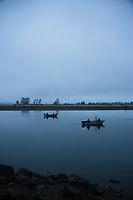 Memaloose Point Boat Launch, Tillamook Bay, Oregon.