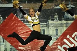 Royal Cheer & Dance, Sweden at European Cheerleading Championship 2008, on July 5, 2008, in Arena Tivoli, Ljubljana, Slovenia. (Photo by Vid Ponikvar / Sportal Images).