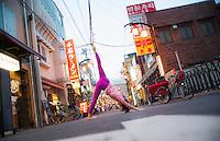 Emi Terada at Asakusa,Tokyo - Japan