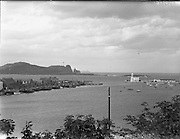 Views  of Howth Harbour.27/09/1956