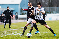 Qendrim Hasanaj during the football match between NK Triglav Kranj and NS Mura in 23rd Round of Prva liga Telekom Slovenije 2019/20, on March 1, 2020 in Športni park Kranj, Kranj, Slovenia. Photo By Grega Valancic / Sportida