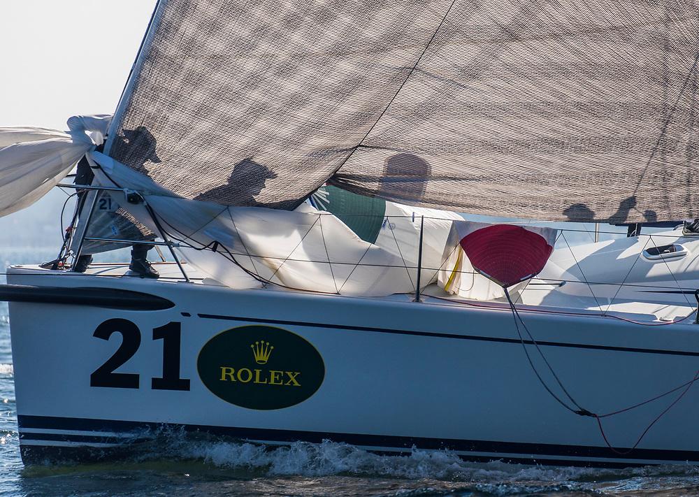 21Shelter Island Yacht ClubBarleycornWhitePaul McDowellAmanda Clark<br /> <br /> 2017 ROLEX NYYC INVITATIONAL CUP
