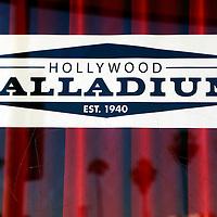 USA, California, Los Angeles. Hollywood Palladium Theatre Box Office.