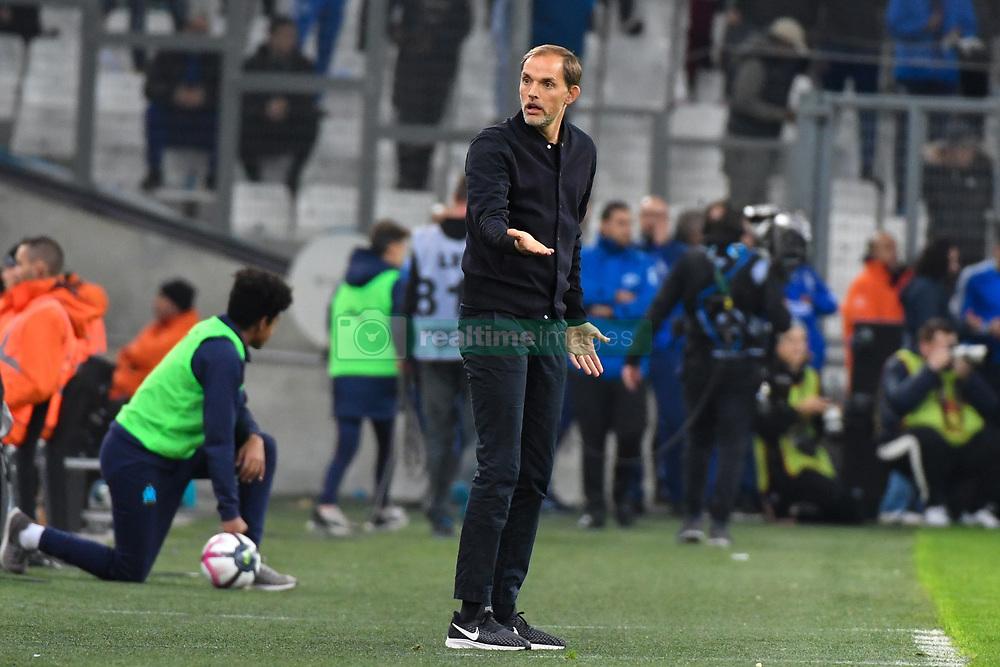 October 28, 2018 - Marseille, france - Thomas Tuchel - Marseille vs Paris SG - Ligue 1 Conforama (Credit Image: © Panoramic via ZUMA Press)