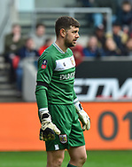 Frank Fielding (1) of Bristol City during the The FA Cup 5th round match between Bristol City and Wolverhampton Wanderers at Ashton Gate, Bristol, England on 17 February 2019.