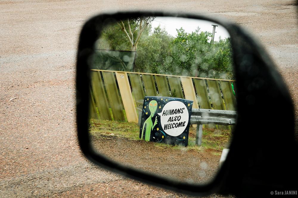 Wycliffe Well UFO, The Stuart Highway, Northern Territory, Australia, Oceania