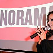 NLD/Amsterdam/20111201- Presentatie Tatjana Simic kalender, Tatjana met haar kalender