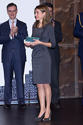The Princess of Asturias, Letizia Ortiz, assists the delivery of the 4th Teaching Awards, Madrid, Spain, November 29, 2012. Photo by Ivan L. Naughty / DyD Fotografos / i-Images...SPAIN OUT