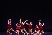 Santa Clara University's Department of Theatre & Dance performs the Choreographers' Gallery during a dress rehearsal at Santa Clara University's Louis B. Mayer Theatre in Santa Clara, California, on December 2, 2014. (Stan Olszewski/SOSKIphoto)