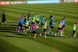 Slovenian national football team during practice session of Slovenian national football team in national football center in Brdo, 2nd of September, 2019, NNC Brdo. Photo by Grega Valancic / Sportida