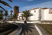 Historic church in village of Oliva, Fuerteventura, Canary Islands, Spain