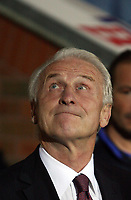 Photo: Paul Thomas.<br /> Blackburn Rovers v SV Red Bell. UEFA Cup. 28/09/2006.<br /> <br /> Giovanni Trapattoni, Salzburg manager.