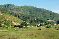 Village of Eraulo in the Ermera District of Timor-Leste (East Timor), viewed from St. Bakhita Mission..