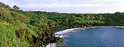High angle view of a coast, Hana Coast, Waianapanapa State Park, Maui, Hawaii, USA