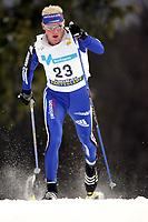 langrenn , 19. november 2005 , Verdenscup langrenn klassisk , <br /> Reto Burgermeister , SUI<br /> <br /> Cross-Country Skiing, World Cup, Beitostolen , Norway