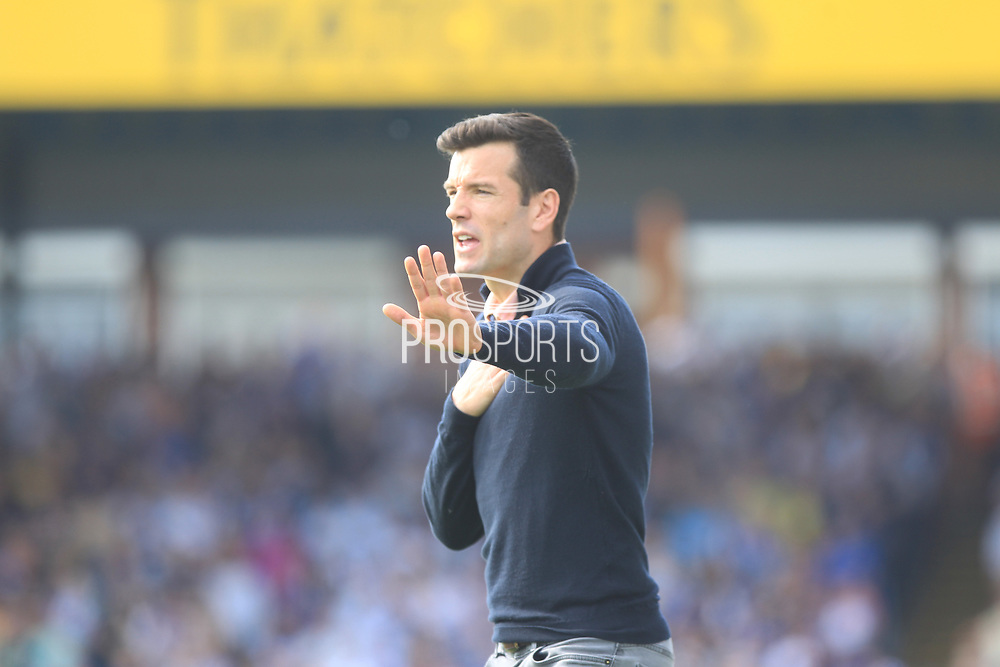 Brian Barry Murphy during the EFL Sky Bet League 1 match between Bristol Rovers and Rochdale at the Memorial Stadium, Bristol, England on 22 April 2019.