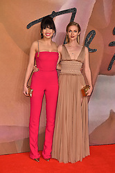Daisy Lowe and Portia Freeman attending The Fashion Awards 2016 at the Royal Albert Hall, London.