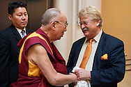 HHDL with Mr Elma r Brok,  Chairman of Comitee on Foreign Affairs European Parliament's