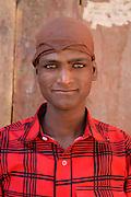 Muslim boy in Leh, Ladakh, India