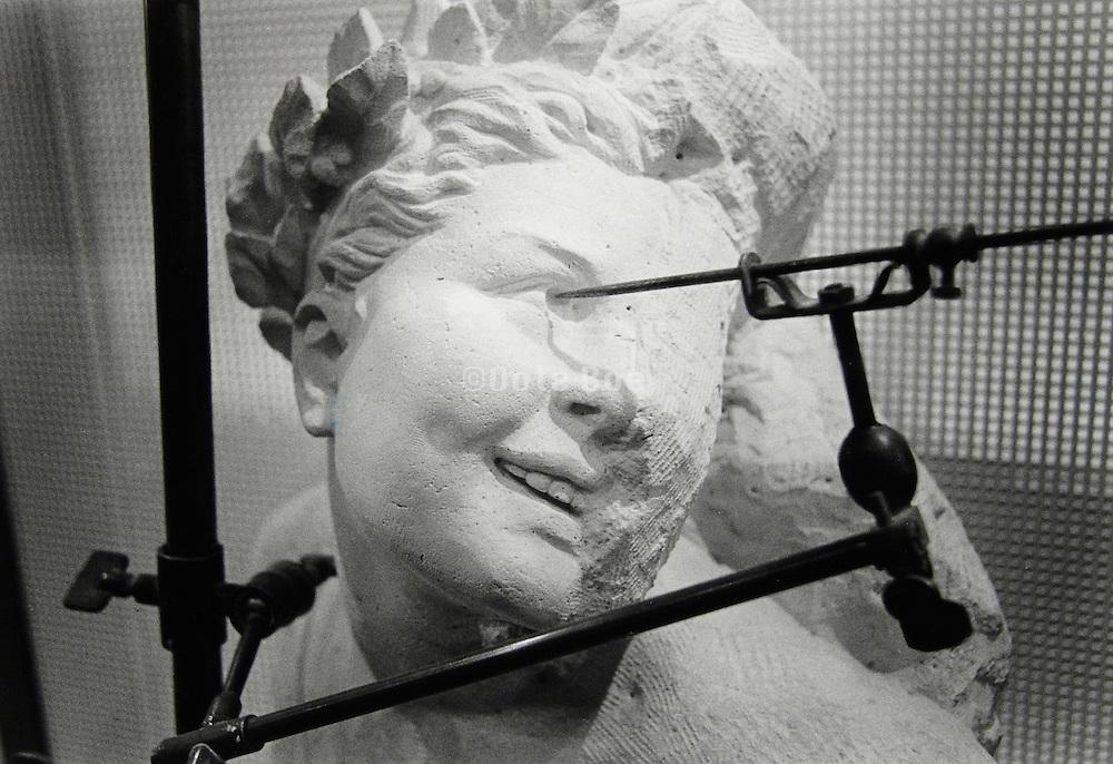 Sculpture copy stand.