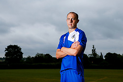 Mark McCrystal poses for a portrait as Bristol Rovers return to training ahead of their 2015/16 Sky Bet League Two campaign - Photo mandatory by-line: Rogan Thomson/JMP - 07966 386802 - 02/07/2015 - SPORT - Football - Bristol, England - The Lawns Training Ground, Henbury - Sky Bet League Two.
