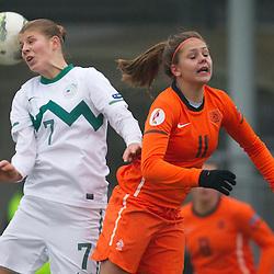 20111119: SLO, Football - Women's EURO 2013 Qualifications, Slovenia vs Netherlands