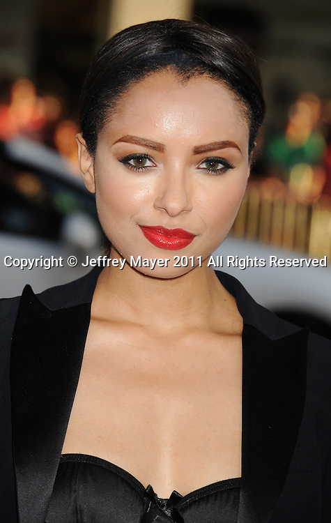 """HOLLYWOOD, CA - MAY 03: Katerina Graham arrives at the """"Something Borrowed"""" Los Angeles premiere on May 3, 2011 in Hollywood, California."""