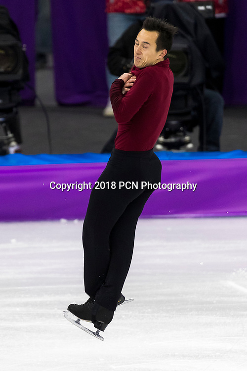 Patrick Chan (CAN) competing in the Figure Skating Men,s Singles Free competition at the Olympic Winter Games PyeongChang 2018