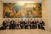 wedding party at Cleveland Public Library by Tallmadge wedding photographer, Akron wedding photographer Mara Robinson Photography
