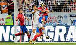 September 1, 2017 - Harrison, NJ, USA - Harrison, N.J. - Friday September 01, 2017:  Bobby Wood during a 2017 FIFA World Cup Qualifying (WCQ) round match between the men's national teams of the United States (USA) and Costa Rica (CRC) at Red Bull Arena. (Credit Image: © John Dorton/ISIPhotos via ZUMA Wire)
