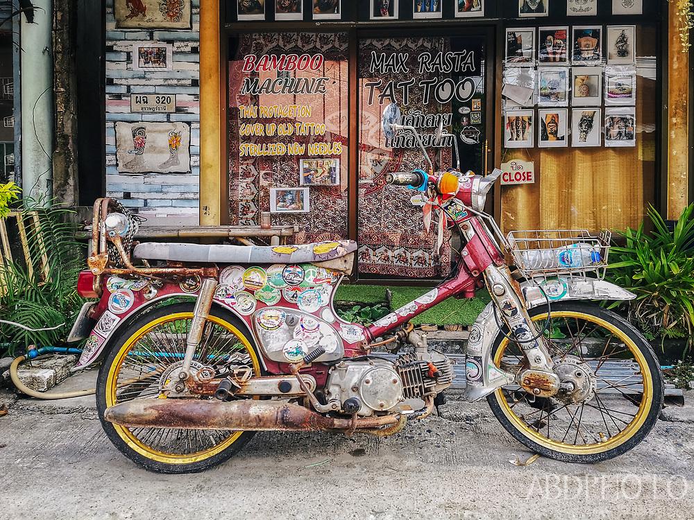 Koh Phangan Thailand island drone photography