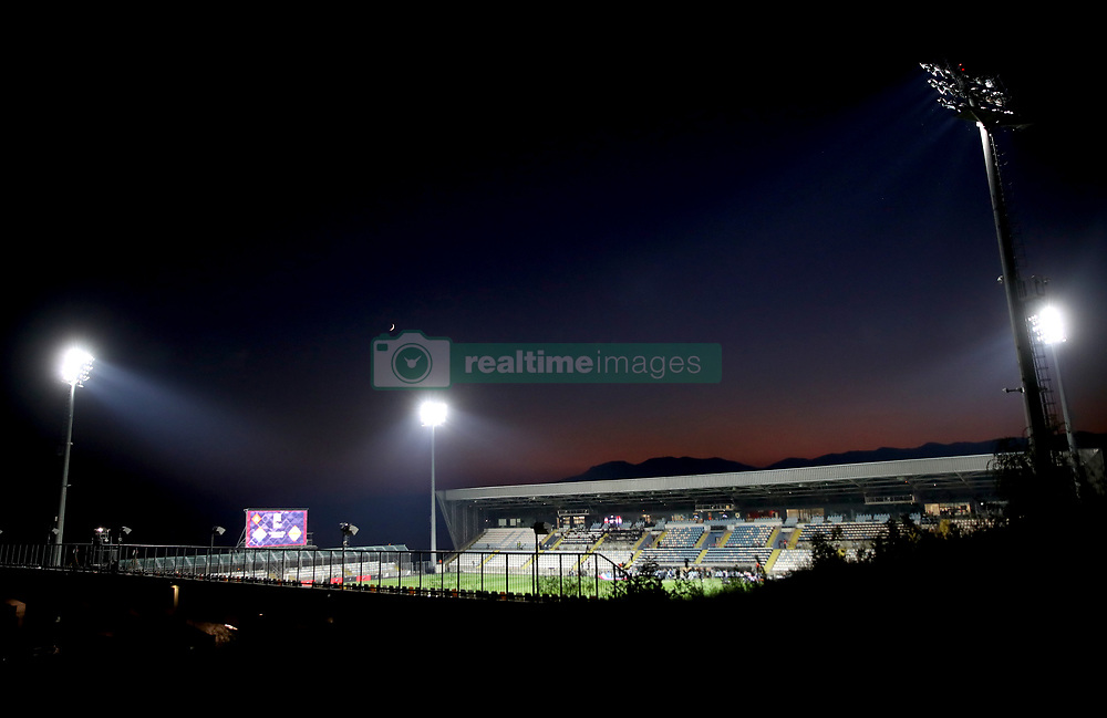 A general view of the stadium before the UEFA Nations League match at Stadion HNK Rijeka in Croatia.