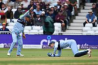 Cricket - 2021 Royal London 50-over Cup - Final - Glamrogan vs Durham - Trent Bridge<br /> <br /> Cameron Bancroft of Durham catches Steven Reingold of Glamorgan.<br /> <br /> COLORSPORT/Ashley Western