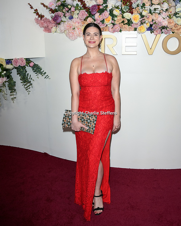 RACHEL ZELIC attends the 3rd Annual #REVOLVEawards at Goya Studios in Los Angeles, California