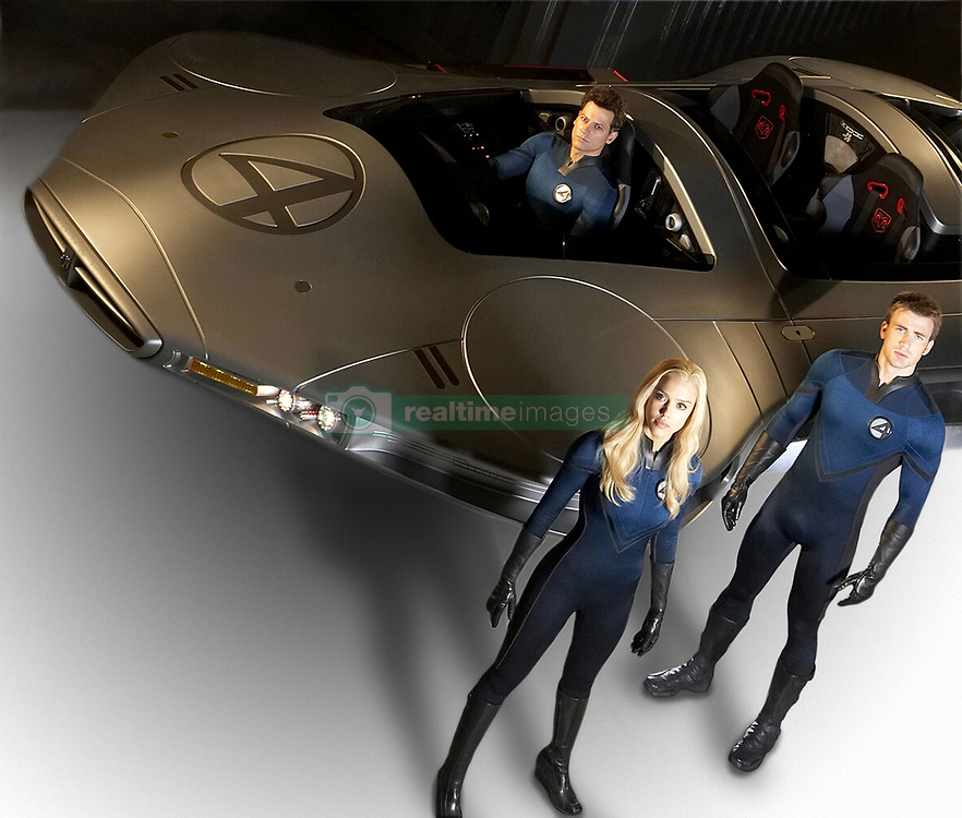 RELEASE DATE: June 15, 2007. STUDIO: 20th Century Fox. PLOT: The Fantastic Four learn that they aren't the only super-powered beings in the universe when they square off against the powerful Silver Surfer and the planet-eating Galactus. PICTURED: IOAN GRUFFUDD, JESSICA ALBA, and CHRIS EVANS. (Credit Image: © Entertainment Pictures/Entertainment Pictures/ZUMAPRESS.com)