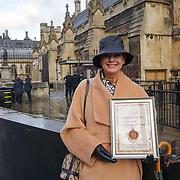 Baroness Anette von Kohorn receive the 2016 Golden Silk Road Global Brand Forum Innovation Awards