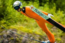 Tilen Bartol during practice session of Slovenian national Ski Jumping team on 18 August, 2020, in Kranj, Slovenia.  Photo by Grega Valancic / Sportida