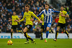 Solly March of Brighton & Hove Albion in action - Mandatory by-line: Jason Brown/JMP - 11/02/2017 - FOOTBALL - Amex Stadium - Brighton, England - Brighton and Hove Albion v Burton Albion - Sky Bet Championship