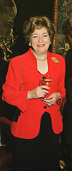 LADY STEWART at a reception in London on 17th March 1999.MPL 5 WO